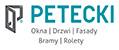 logo PETECKI1 Claim3 PL cmyk+PANTONE-turkus